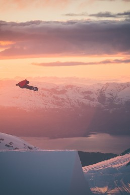 setting up your snowboard